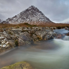 River Coupall and Etive Mor